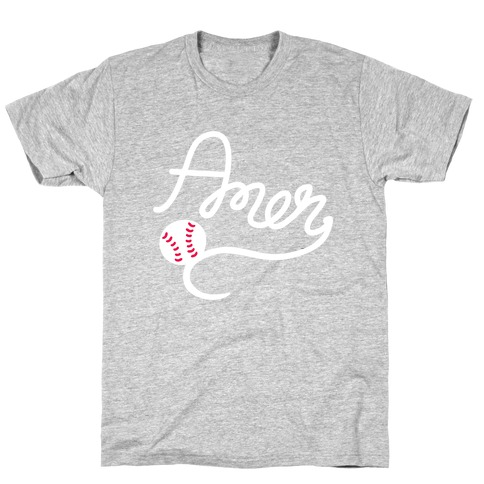 Baseball, Amen T-Shirt