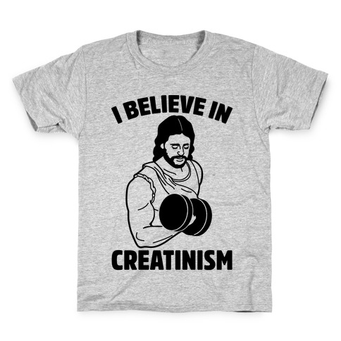 I Believe In Creatinism Kids T-Shirt