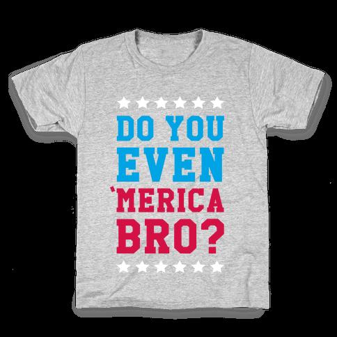 Merican Bro Kids T-Shirt