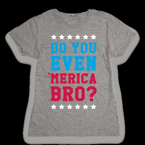 Merican Bro Womens T-Shirt