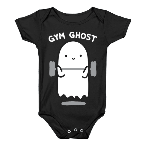 Gym Ghost Baby Onesy