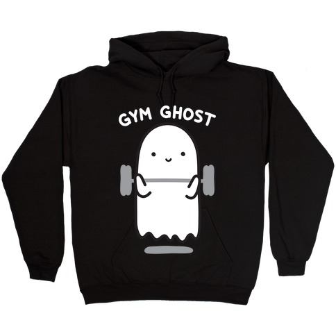 Gym Ghost Hooded Sweatshirt