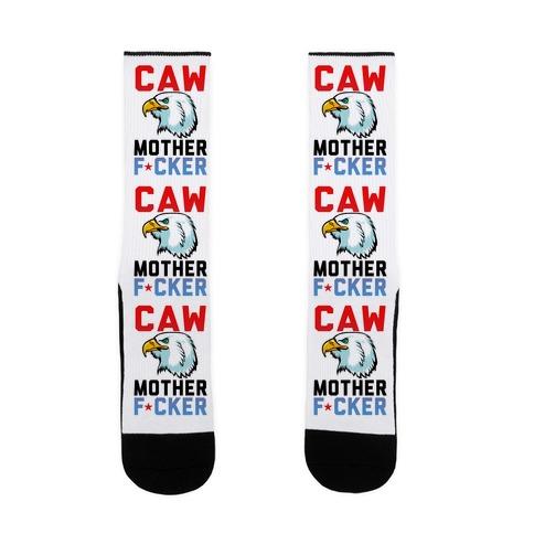 Caw Mother F***er Sock