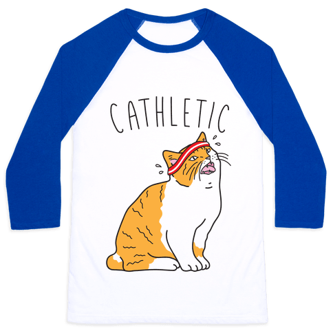 Cathletic Baseball Tee