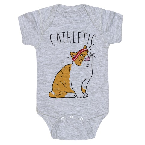 Cathletic Baby Onesy