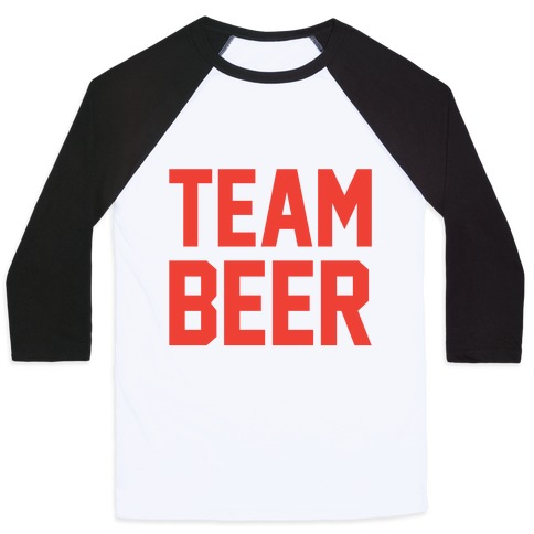 Team Beer Baseball Tee