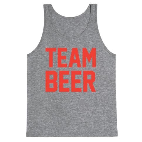 Team Beer Tank Top