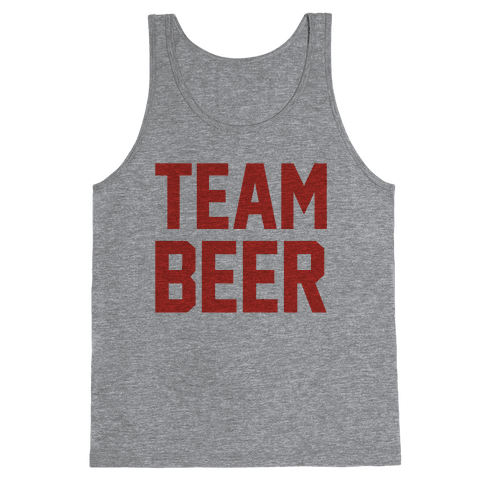 Team Beer Tank Top
