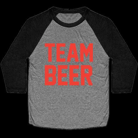 Team Beer Baseball Tee