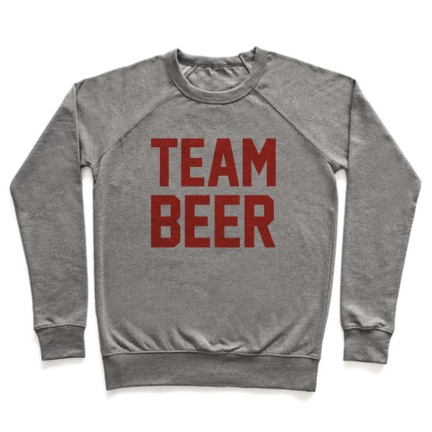 Team Beer Pullover