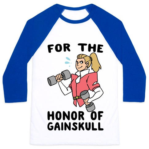 For the Honor of Gainskull Baseball Tee