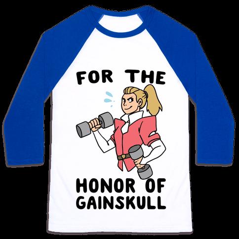 For the Honor of Gainskull Baseball Tee