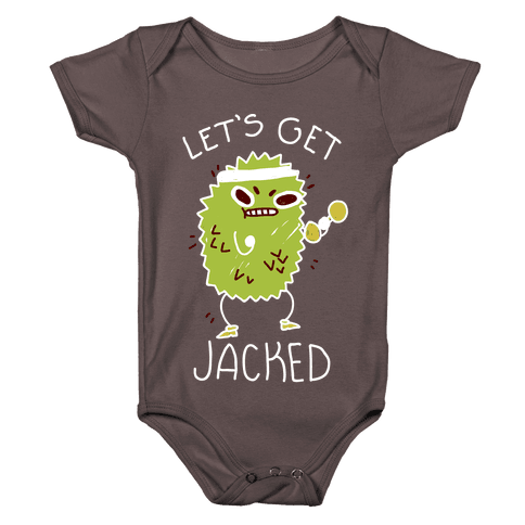 Let's Get Jacked Fruit Baby One-Piece