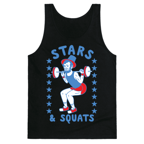Stars and Squats Tank Top