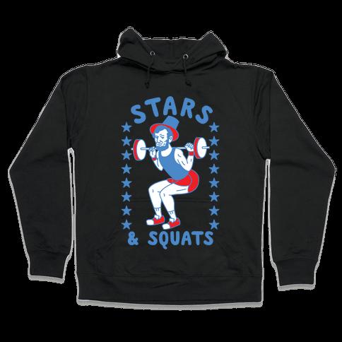Stars and Squats Hooded Sweatshirt