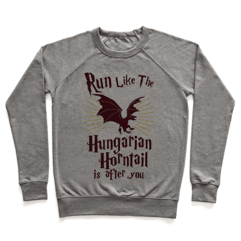 Run Like The Hungarian Horntail Is After You Pullover