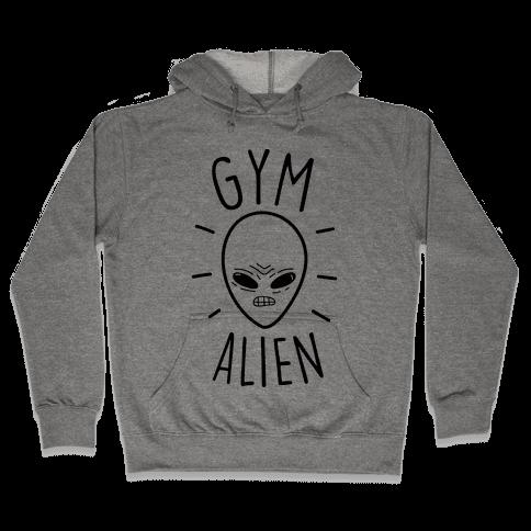 Gym Alien Hooded Sweatshirt