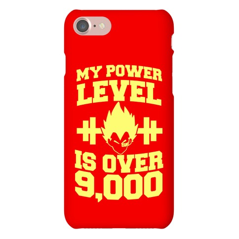 My Power Level Is Over 9,000 Phone Case