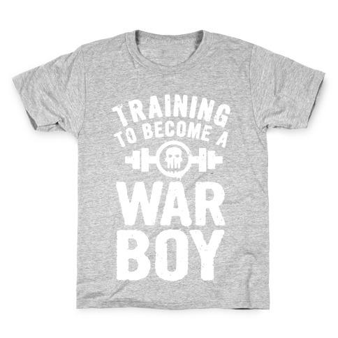 Training to Become a War Boy Kids T-Shirt