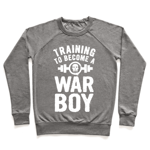 Training to Become a War Boy Pullover