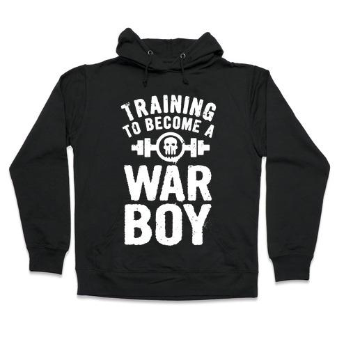 Training to Become a War Boy Hooded Sweatshirt