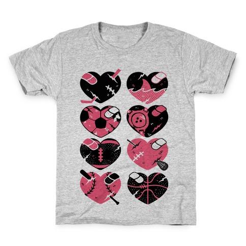 Sport Hearts Kids T-Shirt