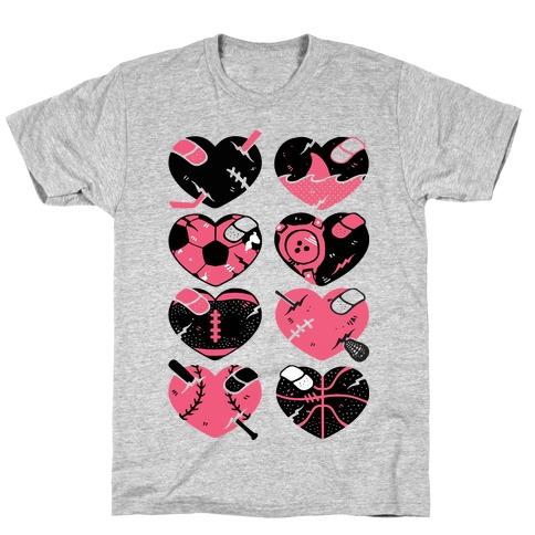 Sport Hearts T-Shirt