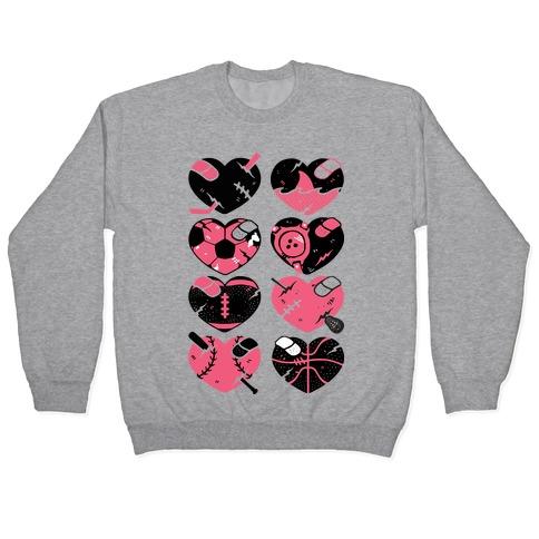 Sport Hearts Pullover