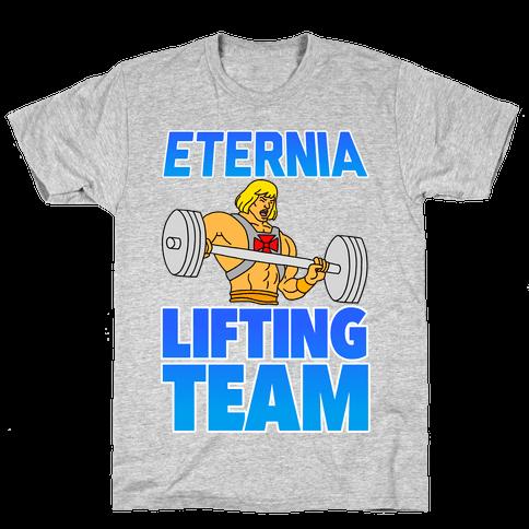 Eternia Lifting Team Mens T-Shirt