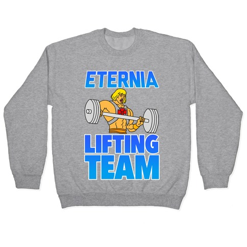 Eternia Lifting Team Pullover