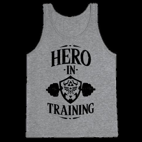 Hero In Training Tank Top
