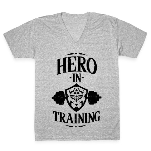 Hero In Training V-Neck Tee Shirt