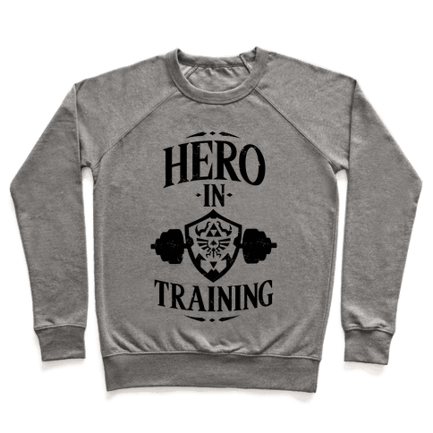 Hero In Training Pullover