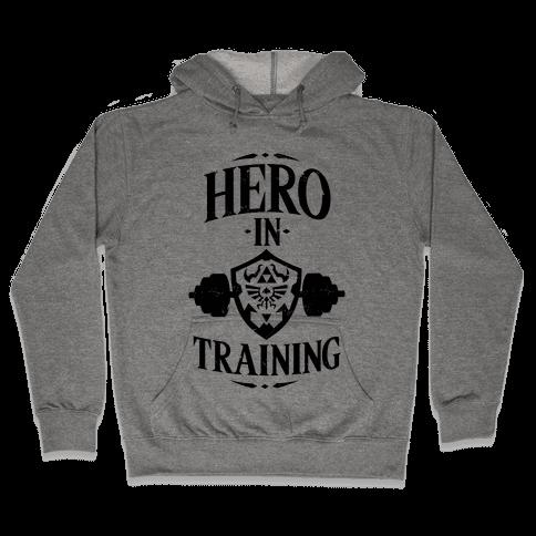 Hero In Training Hooded Sweatshirt