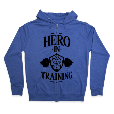 Hero In Training Zip Hoodie