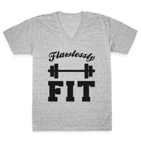 Flawlessly Fit V-Neck Tee Shirt