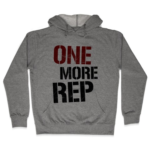 One More Rep Hooded Sweatshirt