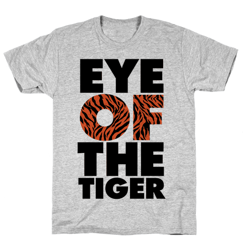 Eye Of The Tiger Mens T-Shirt