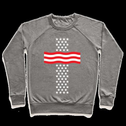 America Cross Pullover