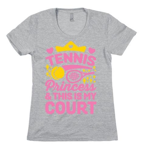 Tennis Princess Womens T-Shirt