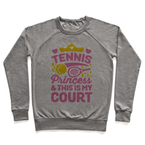Tennis Princess Pullover