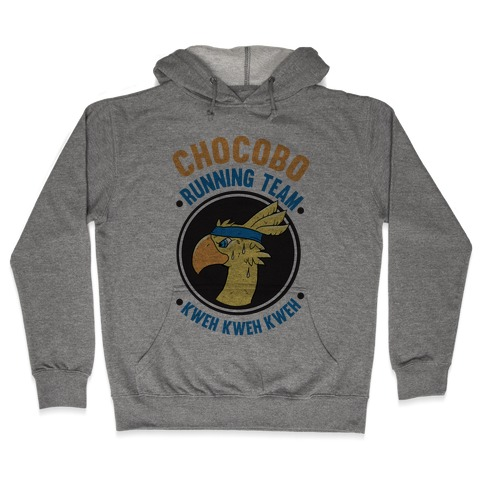 Chocobo Running Team Kweh! Hooded Sweatshirt