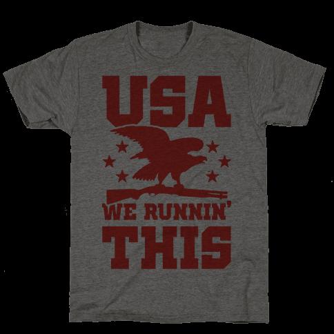 USA We Runnin' This