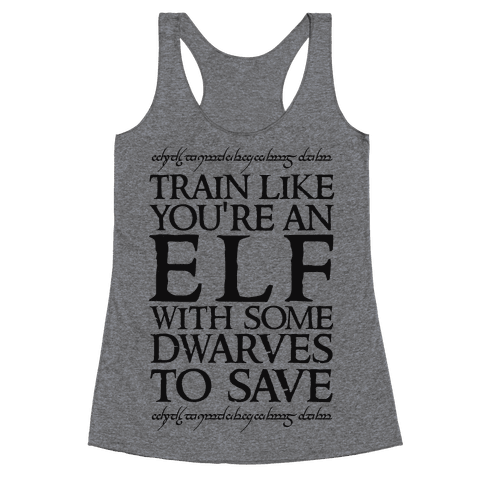 Train Like Your An Elf With Some Dwarves To Save