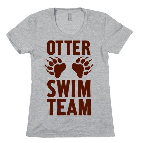 Otter Swim Team Womens T-Shirt