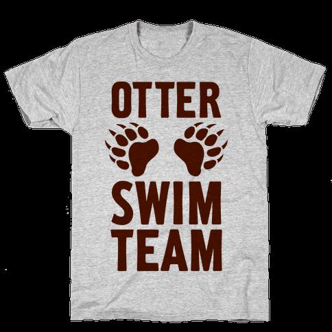 Otter Swim Team Mens T-Shirt