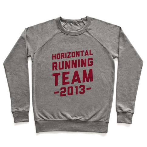 Horizontal Running Team Pullover