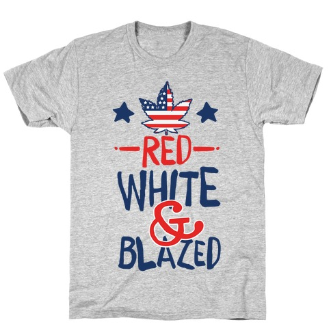 Red White and Blazed T-Shirt