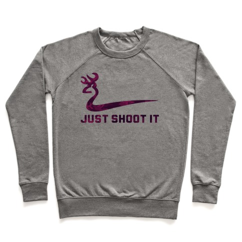 Just Shoot It Pink Pullover