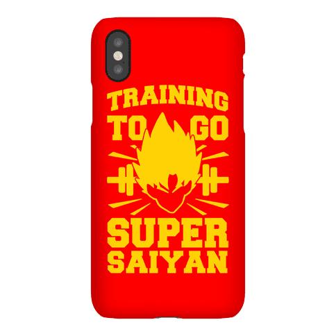 Training to Go Super Saiyan Phone Case
